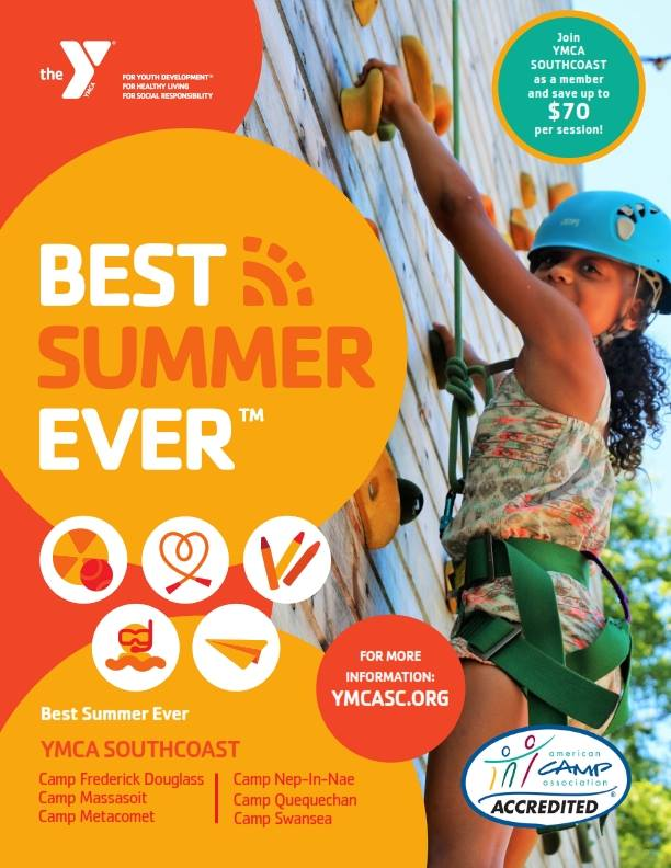 At YMCA Southcoast, we believe camping is about having fun and developing  skills while offering opportunities that allow children to grow to their  fullest ...