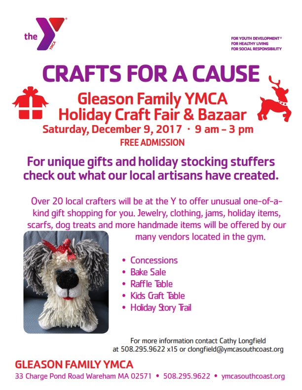 Crafts For A Cause Gleason Flyer