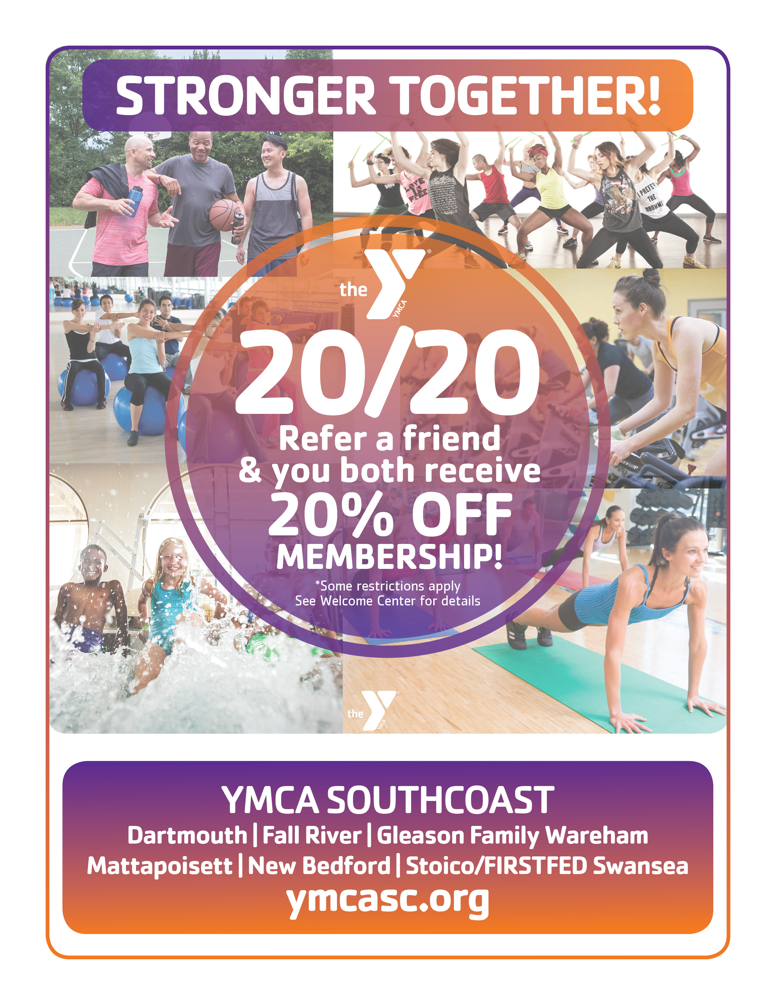 Current Promotions - YMCA Southcoast